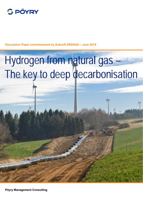 Hydrogen from natural gas - The key to deep decarbonisation