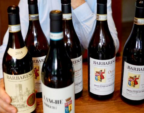 Lansering av 4 cru viner från Produttori del Barbaresco
