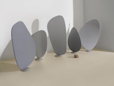 Wind room divider designed by Jin Kuramoto