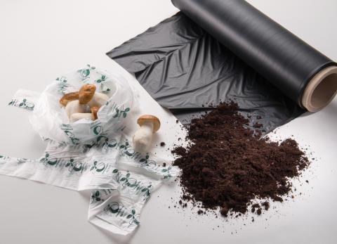 BASF bionedbrytbar marktäckningsduk