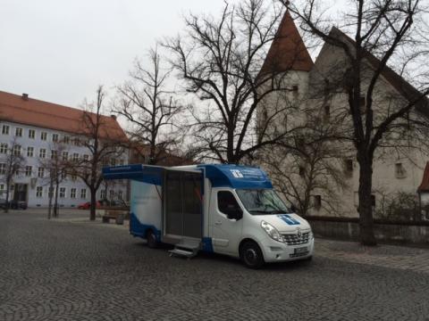 Beratungsmobil der Unabhängigen Patientenberatung kommt am 12. Mai nach Ingolstadt.