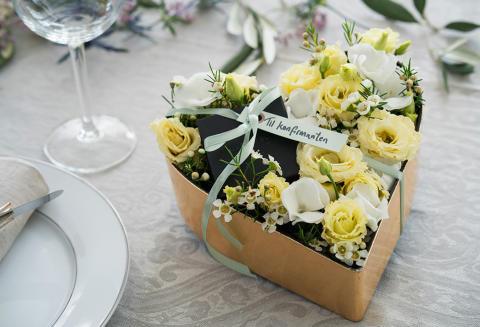 5. Blomsterhjerte-smykkeeske