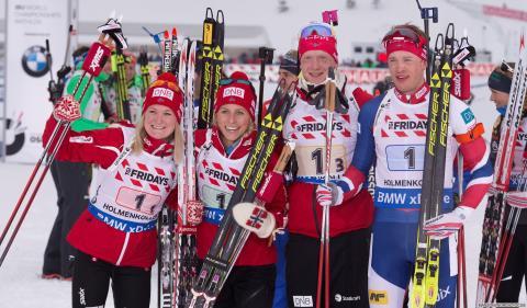 Bronselaget VM Holmenkollen 2016