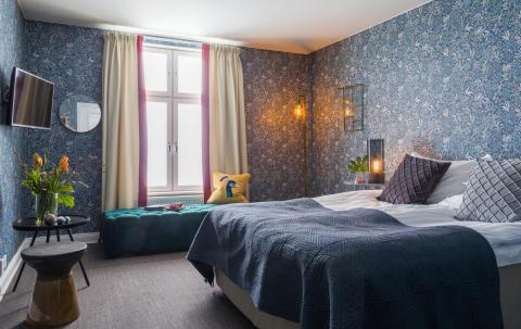 Hotellrum på Smådalarö Gård