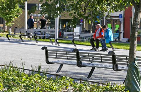 Long, design 02 Landskap. Kirkeparken, Tromsø