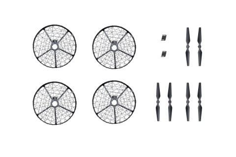 Mavic Pro Propeller Cage & Quick-Release Folding Propellers