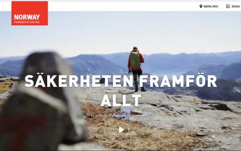 VisitNorway satsar på ökad säkerhet i norska fjäll