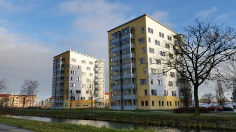 Peab PGS har byggt Kanalhusen i Kristianstad - ett samverkansprojekt med nöjda boende