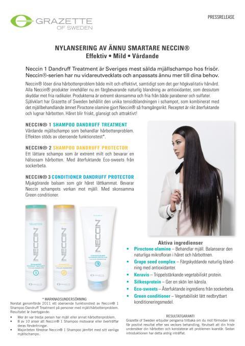 Nylansering av ännu smartare Neccin®