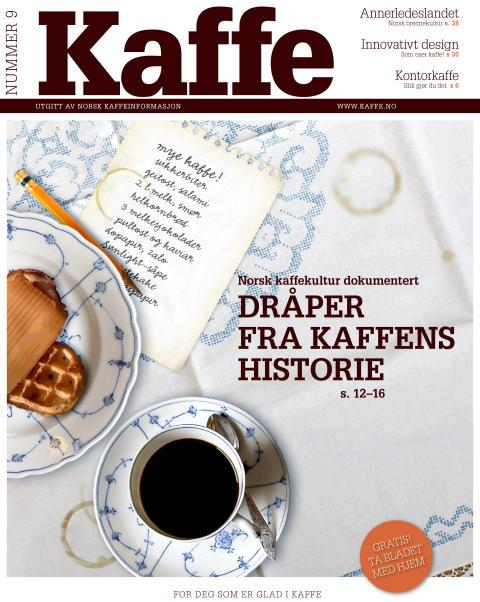 Nytt, rykende aktuelt KAFFE-magasin ute
