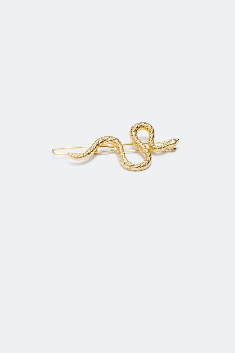 Hair Clip with Snake