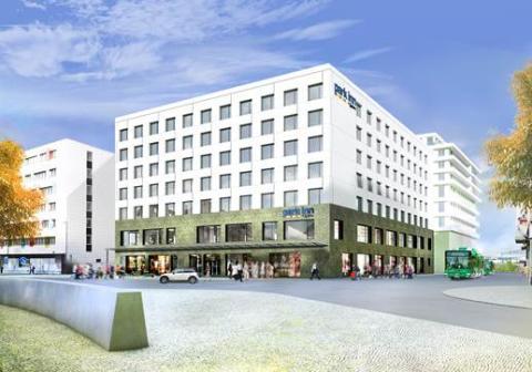 Starka levererar betongelement till nytt kvarter i Helsingborg