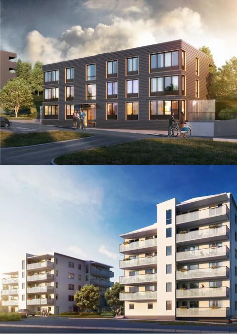 ED Bygg tecknar avtal med HSB om 108 lägenheter belägna i Trosa och Rönninge
