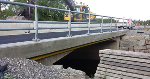 Svevia tryggar broarna i norra Sverige