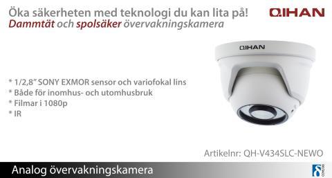 Qihans nya övervakningskamera ger dig trygghet