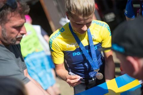 Ännu en svensk medalj genom Jenny Rissveds