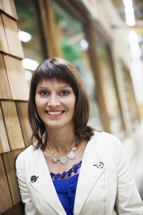 Linda Nyström är invald i styrgruppen för Skogsriket Västerbotten