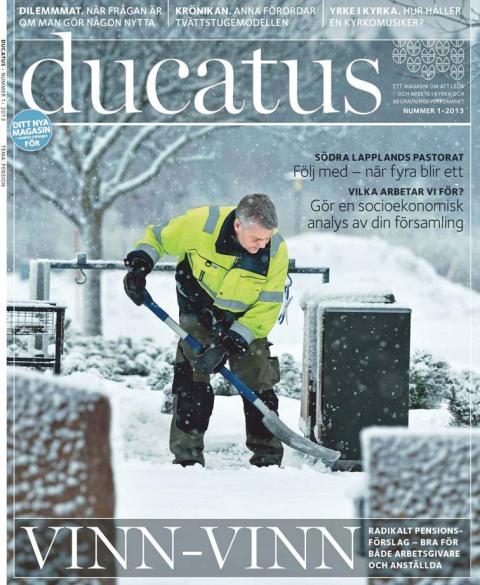 Ducatus – en ny arbetslivstidning är här