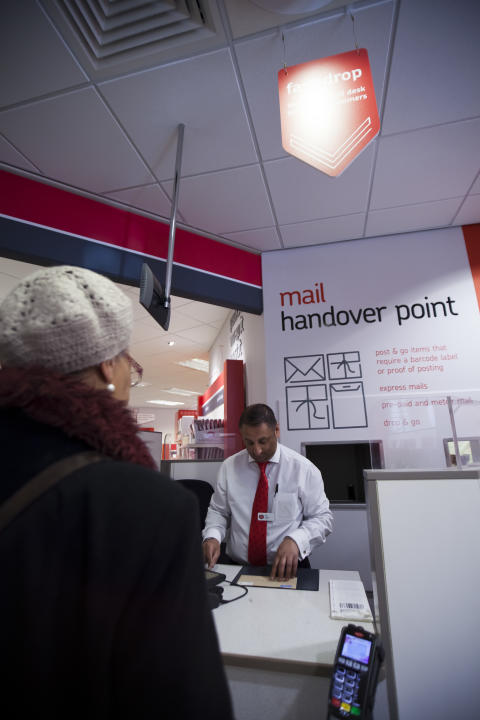 Post Office rolls out new Drop & Go postage service across UK