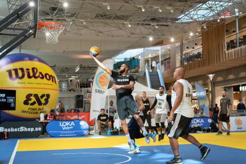 Nordstan presenterar  Internationell finalhelg för basketens nya OS-gren 3x3