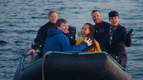 Kærlighed på dybt vand – helt bogstaveligt