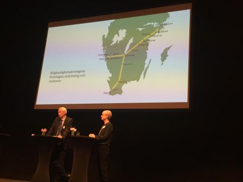Sverigeförhandlingen förordar en höghastighetsstation i Hässleholm