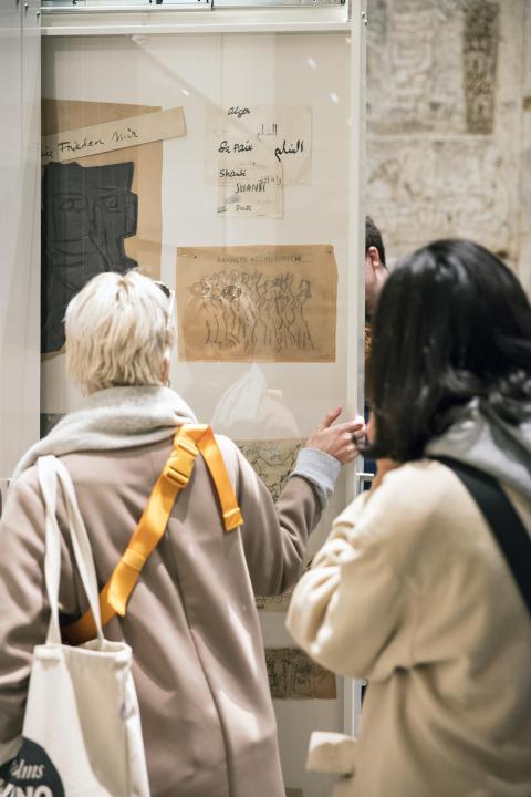 Arkivskabet på Skissernas Museum
