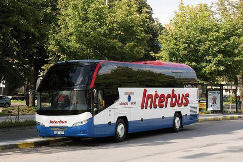 Strömma Buss kör artisterna under Eurovision