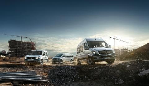 Rekordår for Mercedes-Benz varebiler