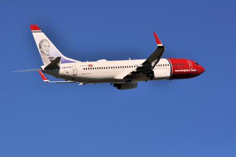 God passagerartillväxt för Norwegian i september