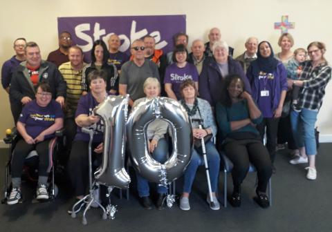 Stroke Association celebrates ten years of vital support for stroke survivors in Wakefield