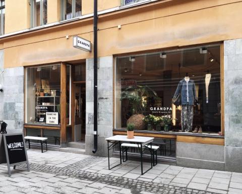 BeX kund Grandpa öppnar ny butik i Stockholm City