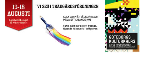 Göteborgs Kulturkalas 2013 - Trädgårdsföreningen