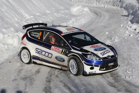 Hirvonen rattar nya Fiesta S2000 till seger i Monte Carlo-rallyt 2010 - bild 2