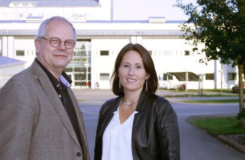 Dan Holmberg och Sofia Mayans
