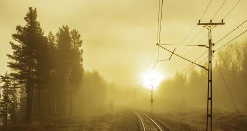 Petra Thorsén - trebarnsmamman som byter lastbil mot tåg