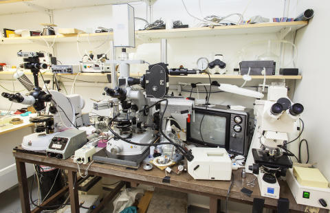 Lennart Nilssons utrustning