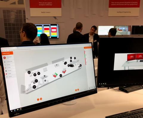 Flowscape displayed at Europe's biggest IT-vendor event