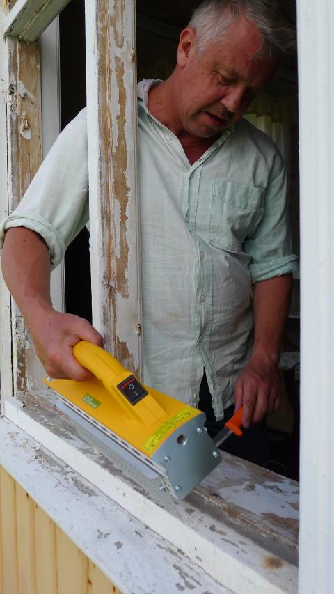 Renoverar fönster