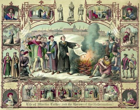 Luther och reformationen i Sverige och Europa – också en mediehistoria