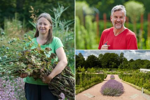 Brittisk trädgårdsprofil ställer ut