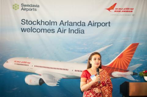Monika Kapil Mohta, Indiens ambassadör i Sverige
