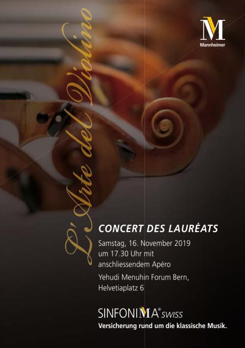 Programm Konzert der SINFONIMA-Stiftung 2019
