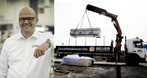 Geir Thomas Fossum, VD Beijer Byggmaterial