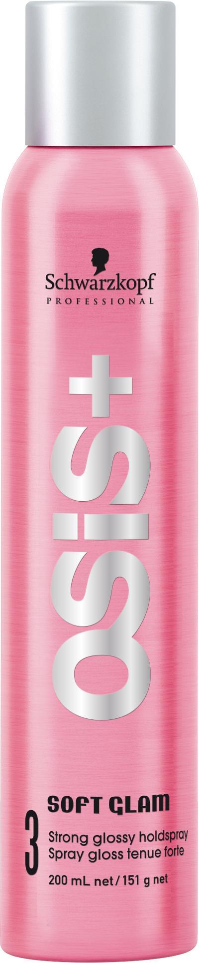 Schwarzkopf Osis+ Soft Glam - Strong Hairspray