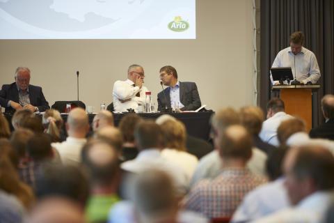 Chairman Åke Hantoft with deputy chairman Jan Toft Nørgaard