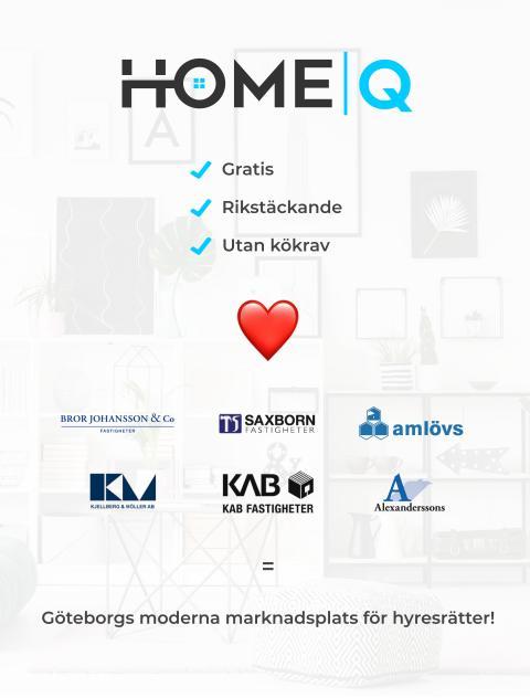 Ytterligare sex privata fastighetsbolag i Göteborg ansluter sina lägenheter till HomeQ