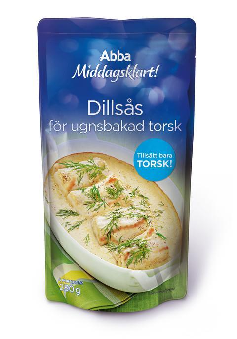 Abba Middagsklart Dillsås för ugnsbakad torsk (250 g)