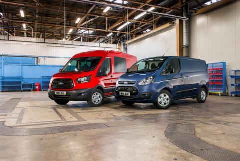 Ford továbbra is Európa első számú haszongépjármű-márkája