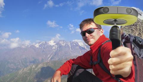 Verdens første 3D VR 360°-kamera i konsument-prisklassen på vei til Europa